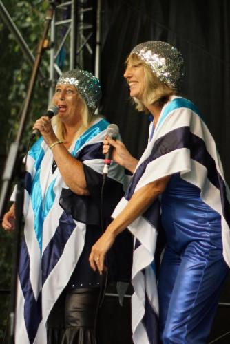 Abba Revival at Eastbourne Lakeside Festival